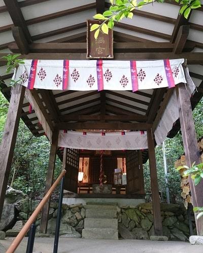 境内社「天満天神社」正面風景