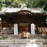 調神社の拝殿