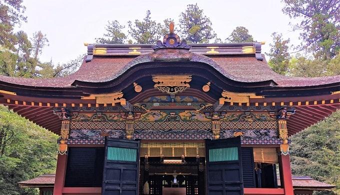 社殿正面風景