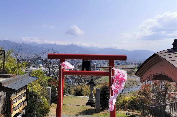 関東の富士見百景が見えるはずの風景