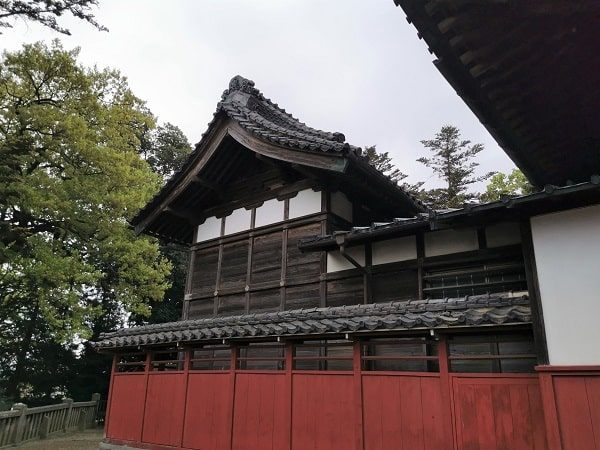 本殿の風景