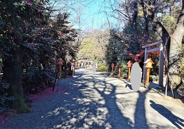 辰巳参道の風景