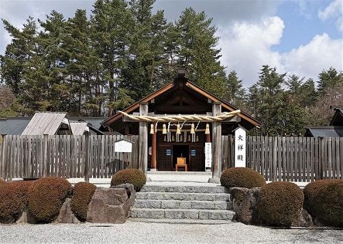 火祥殿入り口の風景