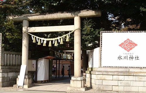 川越氷川神社一の鳥居