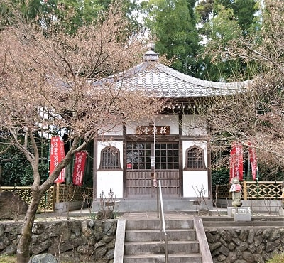 火防の神様が祀られている秋葉堂正面の風景