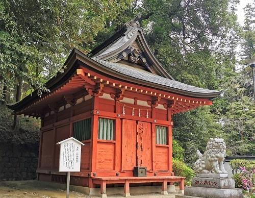 月読神社の風景