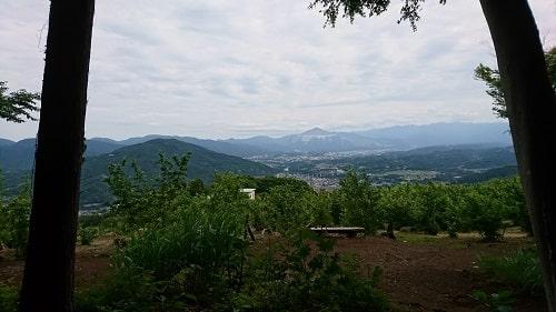山頂(奥宮)からの絶景