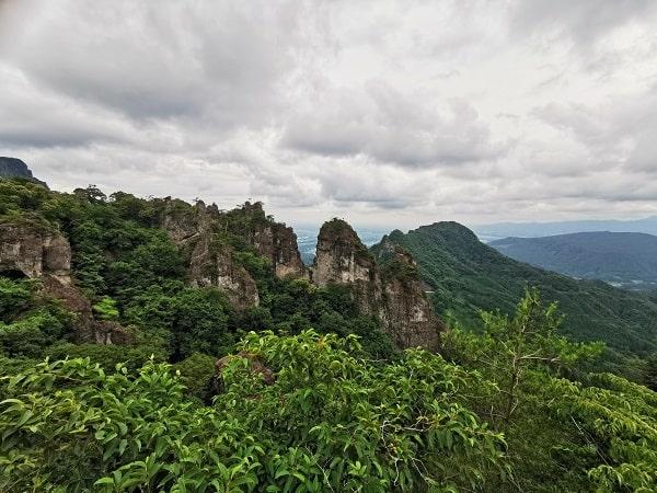 展望台からの風景(左側)