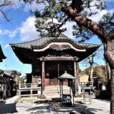 神門寺の観音堂正面の風景