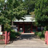 仙波東照宮入り口の風景