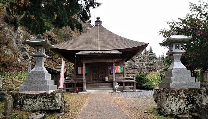 久昌寺観音堂正面の風景