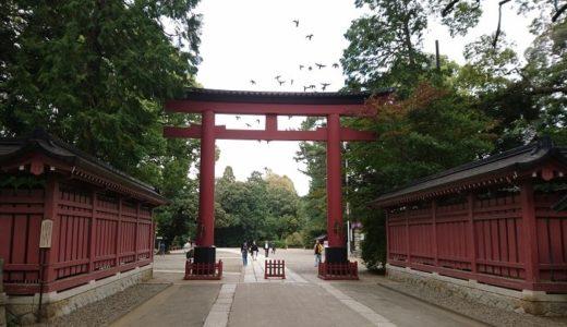 大宮氷川神社の御朱印とご利益!広い境内パワースポットを見逃すな!