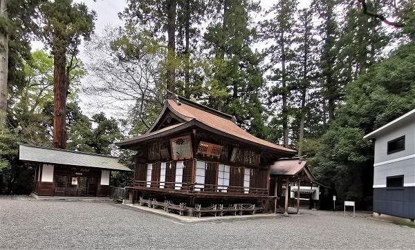 神楽殿の風景